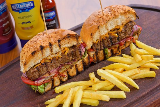Loss Garden Cafe MEKSİKA BURGER