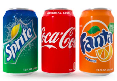 Cola-Fanta-Sprite